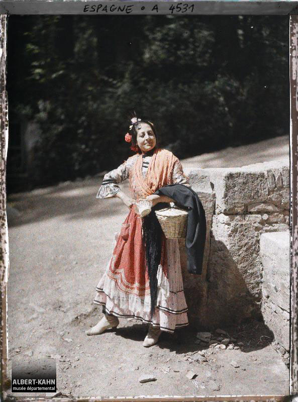 Espagne, Grenade, Une Gitana