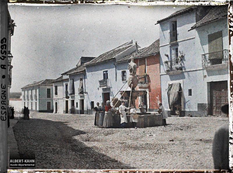 Espagne, Cordoue, Fontaine del Potro